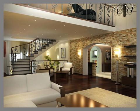 Ремонт и отделка загородных домов, коттеджей, дач под ключ